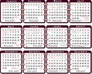 Base Calendário 2019 com Feriados Imagem Legal