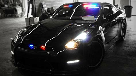 worlds scariest police car top gear
