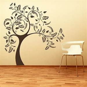 large tree giant wall sticker huge removable vinyl uk With large tree template for wall
