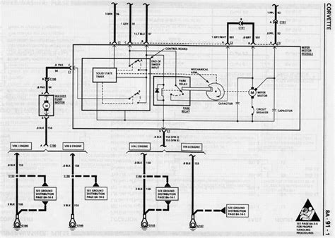 88 Chevy Wiper Motor Wiring Diagram by Ok Heres A One Are The Windshild Wipers And Tach