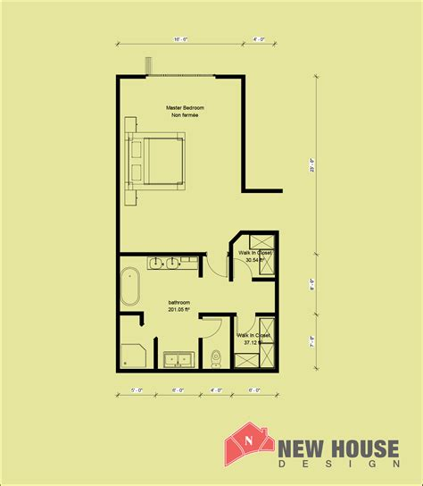 Master Bedroom Plans With Bath by Master Bedroom Plans With Bath And Walk In Closet New