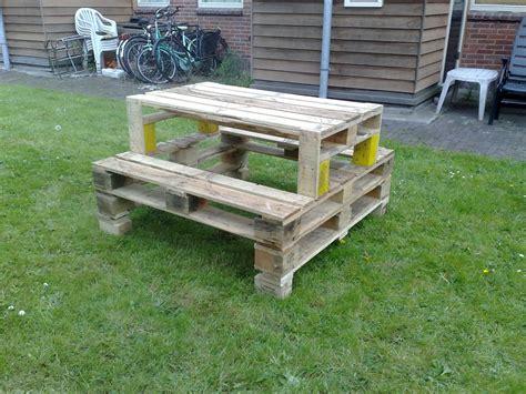 Table Et Chaises En Palettes Recyclées Wood Pixodium Eriestuff Pallet Picnic Table