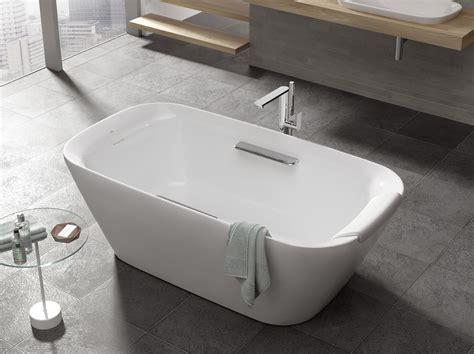 totos neorest suite gains freestanding tub custom home