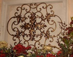 Tuscan inspired deco ideas on pinterest tuscan style for Wrought iron wall decor ideas
