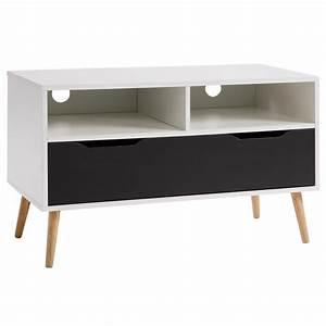 Tv Möbel Weiß : tv rack hifi m bel lowboard fernsetisch schrank wei grau 90 cm breit ebay ~ Buech-reservation.com Haus und Dekorationen