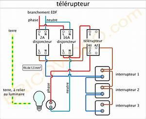 Schema Telerupteur Legrand : faro patrice modification pour allumage deux lampes ~ Dode.kayakingforconservation.com Idées de Décoration