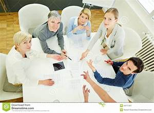 People In Business Meeting Looking Stock Photo - Image ...