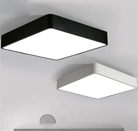 square led ceiling lights square flush mount ceiling light reviews online shopping