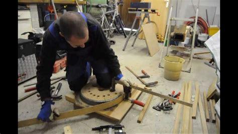 le bois de la chaise cintrage du bois