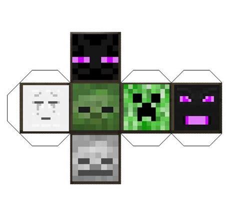 Minecraft Papercraft Mob Die