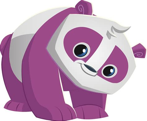 image purple pandapng animal jam wiki fandom