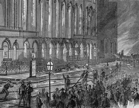 New York Academy Of Music Fire Of 1866 History, Firmen