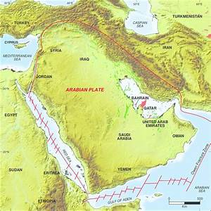 1  The Arabian Plate Comprises The Arabian Peninsula