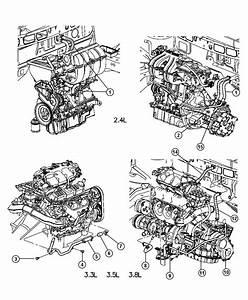 2003 Chrysler Voyager Hose  Heater Return  Controlatc  Controlradio  Dutycooler