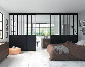 Verriere Interieure Coulissante : verri re int rieure coulissante en alu sur mesure ~ Premium-room.com Idées de Décoration