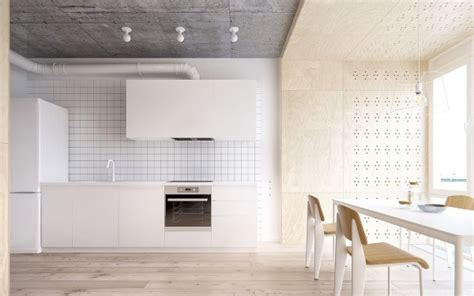 Minimalist Apartment For A Family Of Four by Minimalist Apartment For A Family Of Four