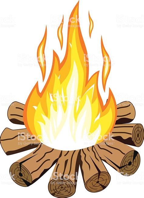 Illustration Of Isolated Camp Fire Stock Vector Art & More Images Of Activity 531861224 Istock