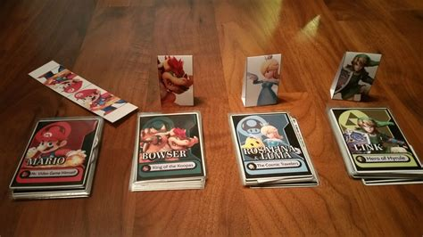 Homemade Super Smash Bros Board Game Utilizes Amiibos