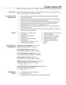 header for nursing resume telemetry resume berathen