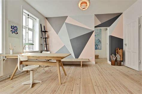 peinture decorative dessin geometrique sublimez les murs