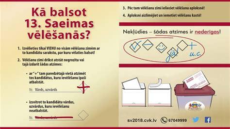 13. Saeimas vēlēšanas 6. oktobrī - Latvieši NL