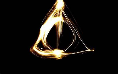 Potter Deathly Hallows Harry Symbol Wallpapers 4k