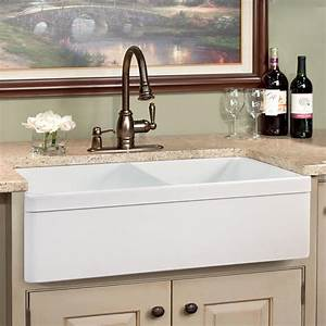 33quot baldwin double bowl fireclay farmhouse sink decorative With 33 in farmhouse sink white
