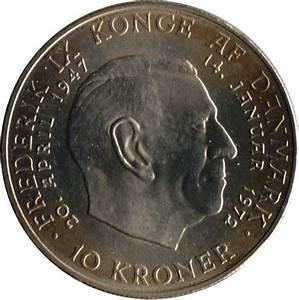 10 Kroner - Margrethe II (Throne Accession) - Denmark ...