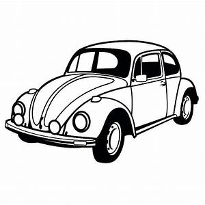 Classic Car Coloring Pages: The Old and Muscle Car ...