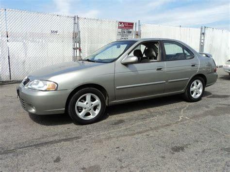 Sell Used 2003 Nissan Sentra Gxe Sedan 4door 18l, No