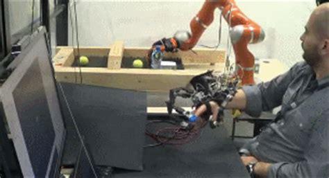 hexotrac hand exoskeleton  robot teleoperation