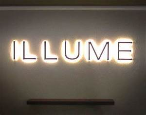 10 images about signsbacklit halo lit on pinterest With backlit letters
