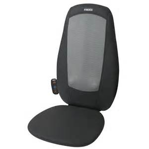 homedics sfm 209h 3gb shiatsu back massager with heat easy store fold away ebay
