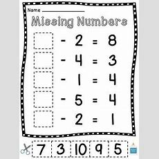 Missing Subtrahends And Missing Minuends Worksheets By Miss Giraffe