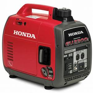 Super Quiet Honda Eu2200i 2200 Watt Light Portable