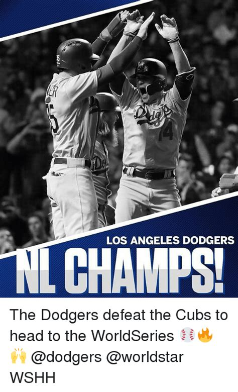 La Dodgers Memes - los angeles dodgers the dodgers defeat the cubs to head to the worldseries wshh dodgers