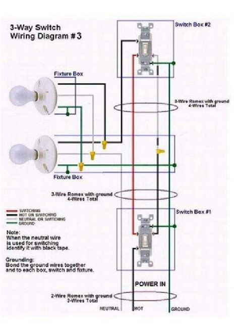 switch wiring diagram  electrical services