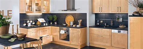 cuisine bois naturel les meubles de cuisine en bois