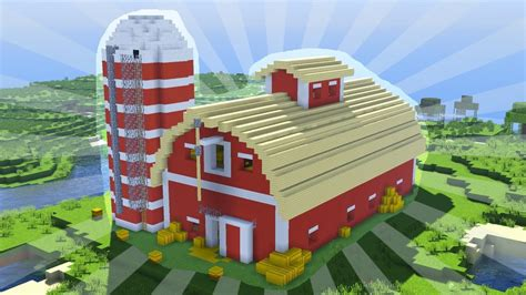 build  minecraft barn creative building youtube