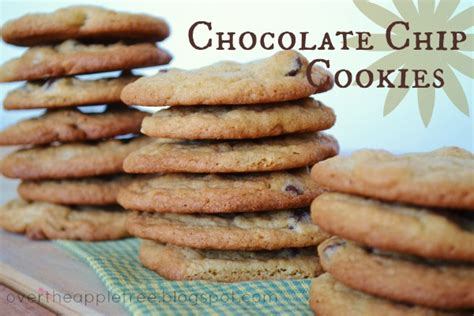 better homes and gardens chocolate chip cookies over the apple tree classic chocolate chip cookies