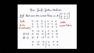 Matrix Kern Berechnen : inverse matrix berechnen das gau jordan verfahren ~ Themetempest.com Abrechnung