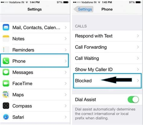 how to unblock numbers on iphone how to unblock contact on iphone 6 6 plus ios 8 4
