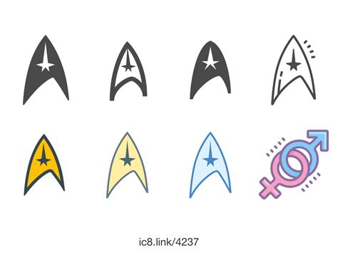 star trek symbol icon    icons