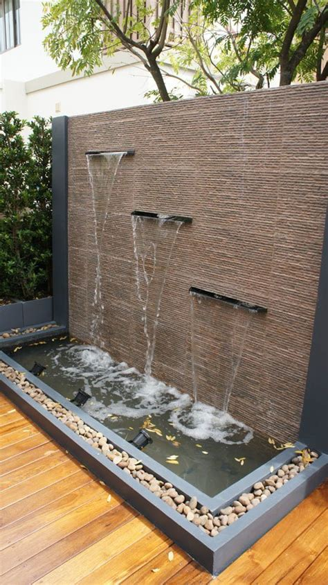 inexpensive unique water features   backyard