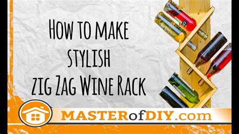 how to make a wine rack out of a pallet zig zag wine rack how to make diy do it yourself