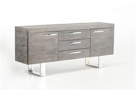 Armani Sofas by Modrest Lola Modern Grey Brush Buffet
