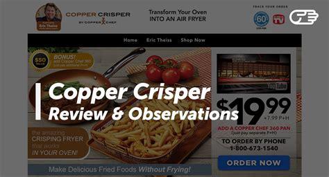 copper crisper  copper chef reviews    scam  legit