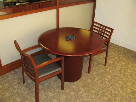 vecta 42 conference table executive liquidation