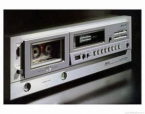 Akai Gx-f60r - Manual - Stereo Cassette Deck