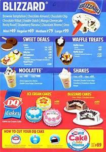 dq menu prices